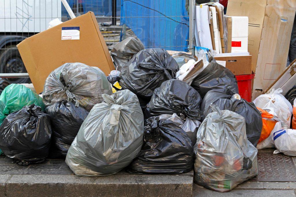 professional rubbish collection service